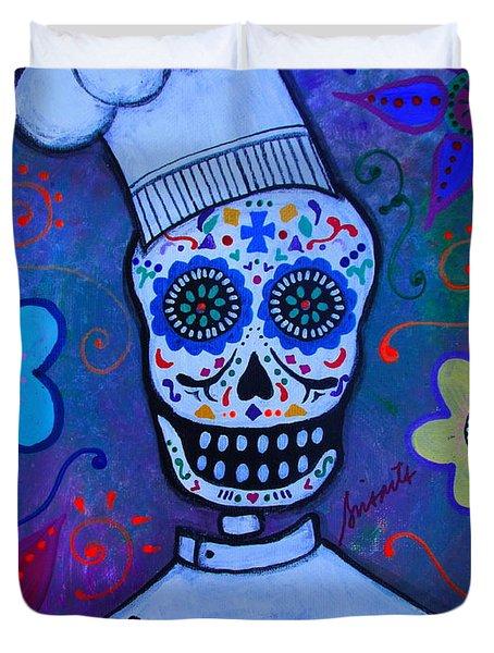 Dia De Los Muertos Cocinero Duvet Cover