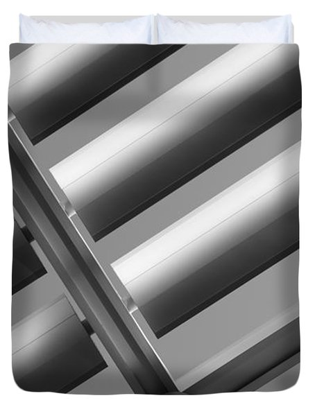 Diagonal Lines Duvet Cover