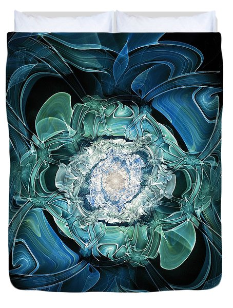 Diamond Nest Duvet Cover by Anastasiya Malakhova