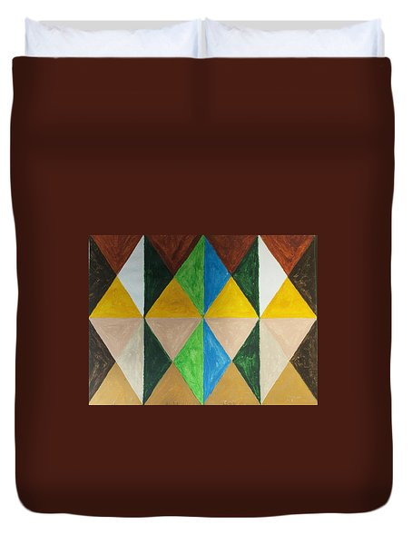 Diamonds Duvet Cover by Stormm Bradshaw