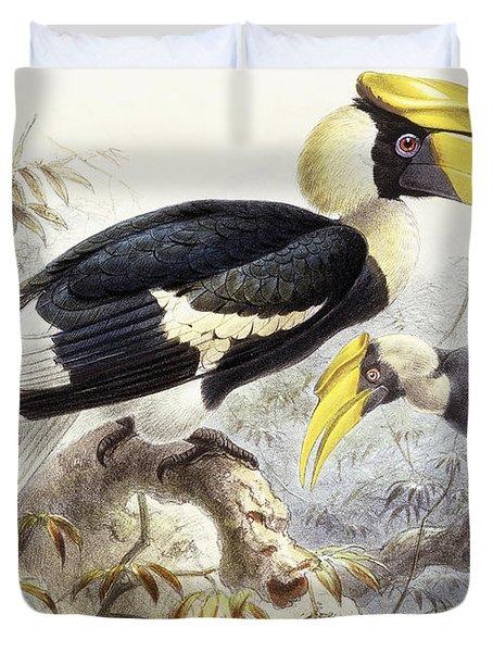 Dichocerus Bicornis Duvet Cover