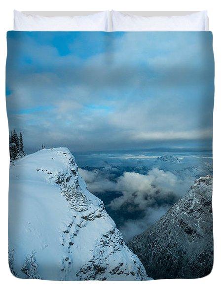 Dickerman Peak Duvet Cover