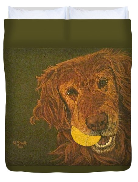Did Somebody Say Ball? Duvet Cover