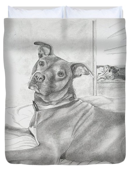 Did You Say Walk Duvet Cover
