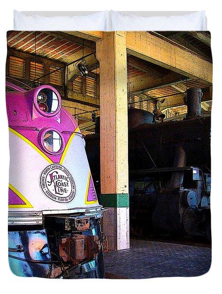 Diesel And Steam Duvet Cover