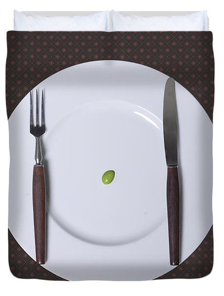 Diet Duvet Cover by Joana Kruse