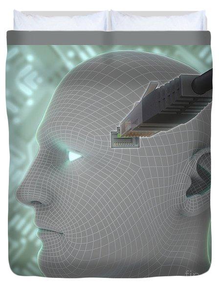 Digital Connection Duvet Cover