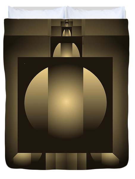 Digital Design 619 Duvet Cover by Nedunseralathan R