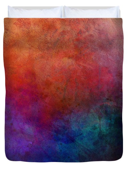 Dimension - Abstract Art Duvet Cover