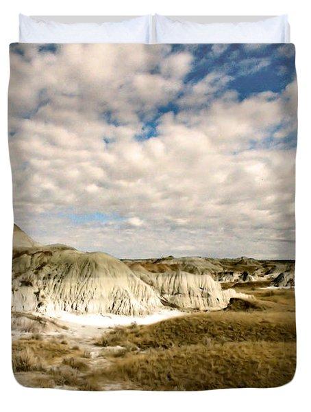 Dinosaur Badlands Duvet Cover