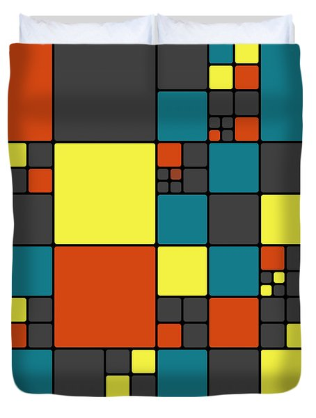 Dio - 55-01a Duvet Cover by Variance Collections