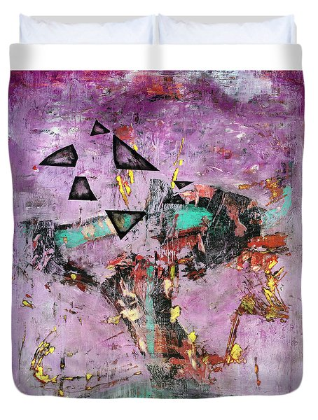 Disfunction Duvet Cover by Antonio Ortiz