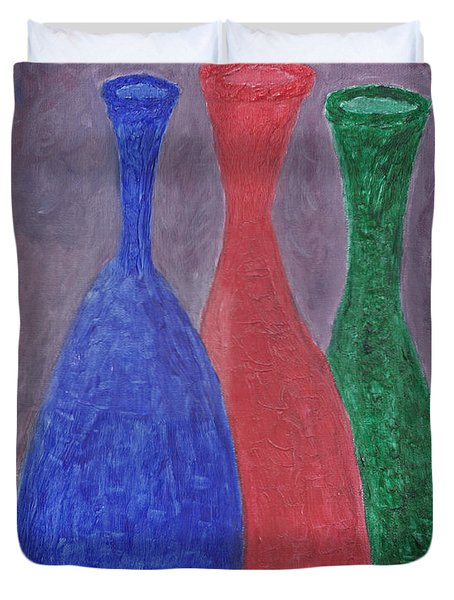 Disillusion Duvet Cover by Carol  Eliassen