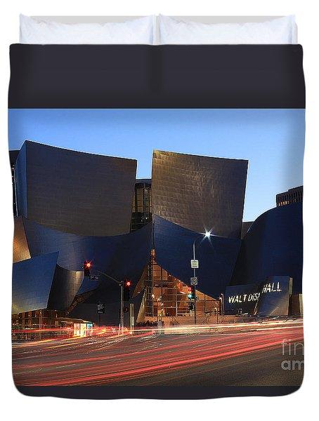 Disney Concert Hall Duvet Cover
