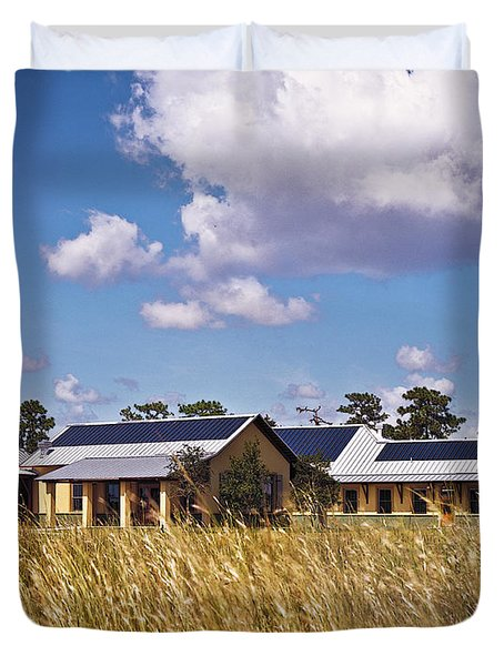 Disney Wilderness Preserve Duvet Cover by Rich Franco