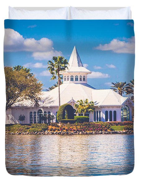 Disney's Wedding Pavilion Duvet Cover