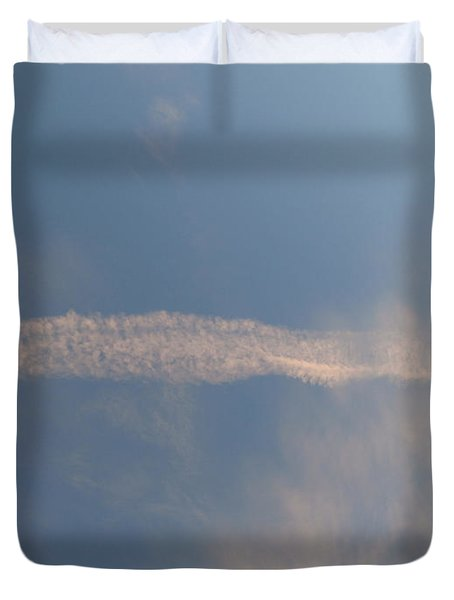 Dissipation  Duvet Cover by Joseph Baril