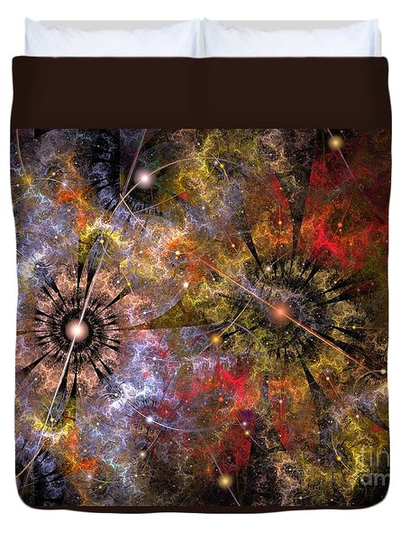 Distant Cosmos Duvet Cover