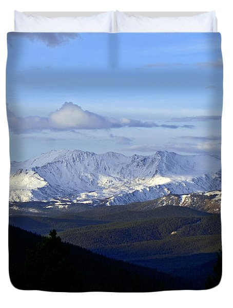 Distant Light Duvet Cover by Jeremy Rhoades