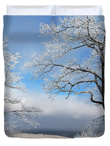 Distant Storms Duvet Cover