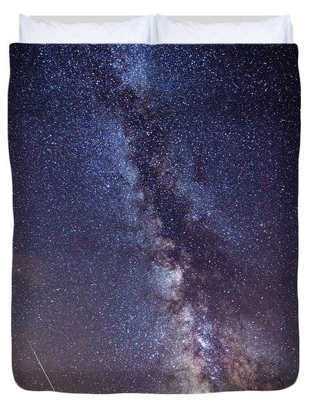 Distant Visitors Duvet Cover