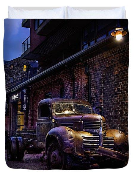 Distillery District Toronto Duvet Cover
