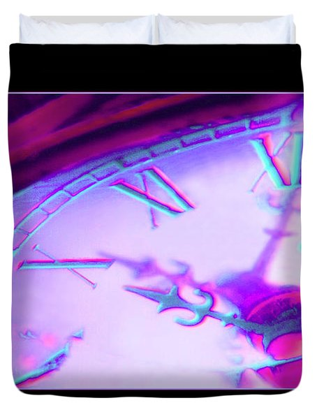 Distorted Time Duvet Cover by Mike McGlothlen