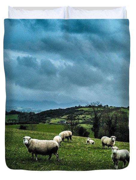 Disturbing The Sheep Duvet Cover