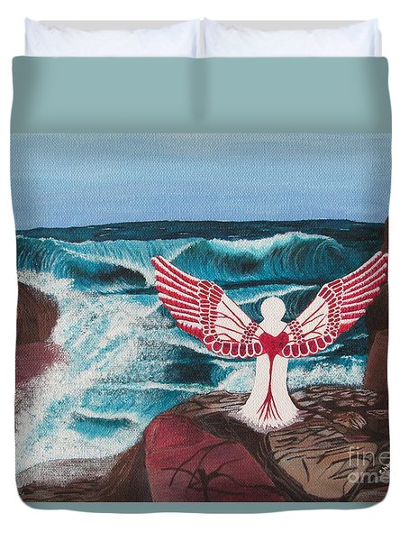 Divine Power Duvet Cover