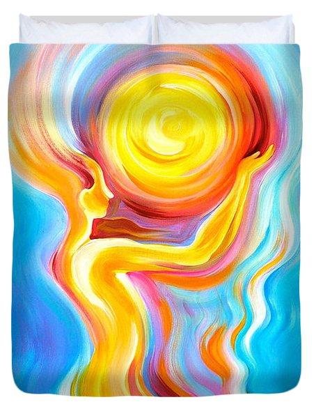 Divine Reflection Duvet Cover