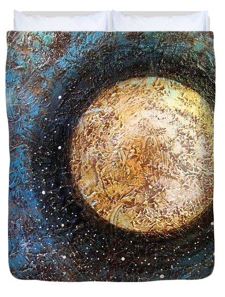 Divine Solitude Duvet Cover by Sharon Cummings