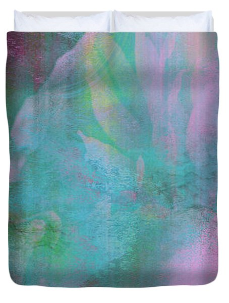 Divine Substance - Abstract Art Duvet Cover