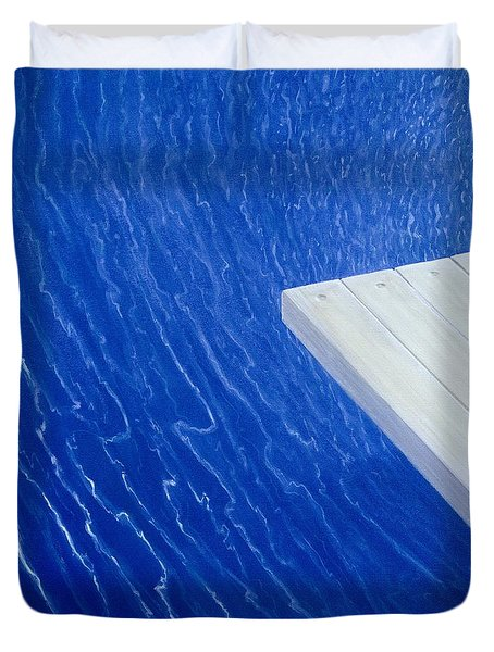 Diving Board 2004 Duvet Cover