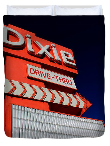Dixie Drive Thru Duvet Cover