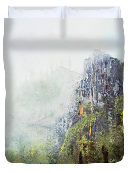 Dixville Notch Nh Duvet Cover by Michael Daniels