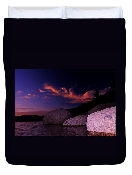 Duvet Cover featuring the photograph Do You Believe In Dragons? by Sean Sarsfield