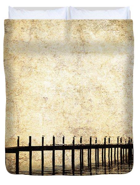 Dock 2 Duvet Cover by Skip Nall