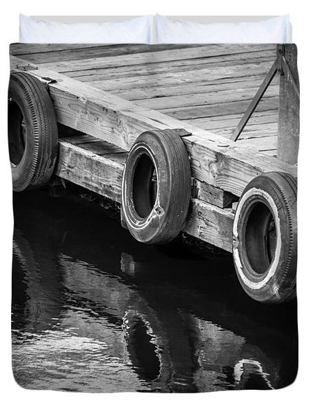 Dock Bumpers Duvet Cover