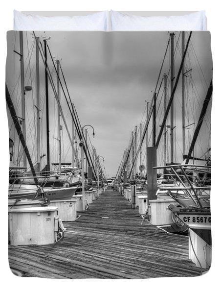 Dock Life Duvet Cover by Heidi Smith