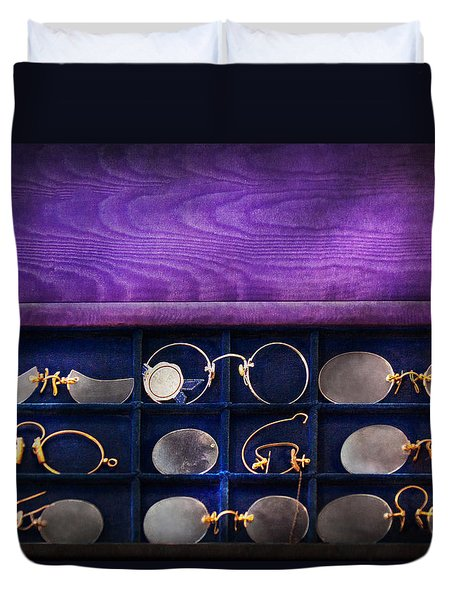 Doctor - Optometrist - Many Styles To Choose From  Duvet Cover by Mike Savad