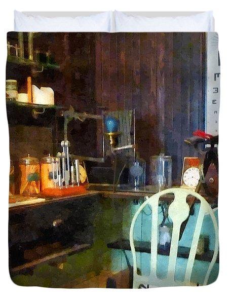 Doctor - Pediatrician's Office Duvet Cover
