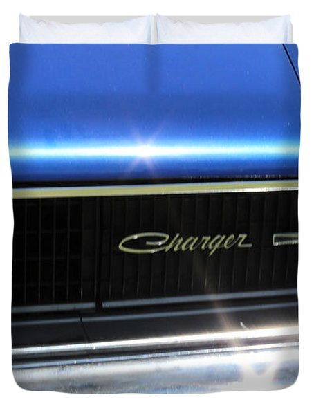 Dodge Charger Duvet Cover
