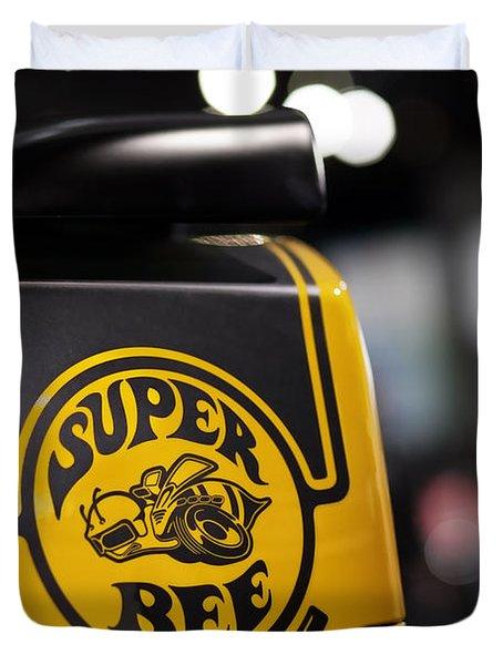 Dodge Charger Srt Super Bee Duvet Cover