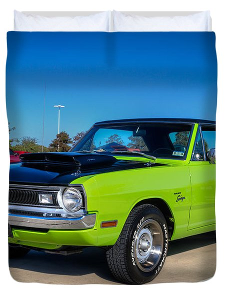 Dodge Dart Swinger Duvet Cover