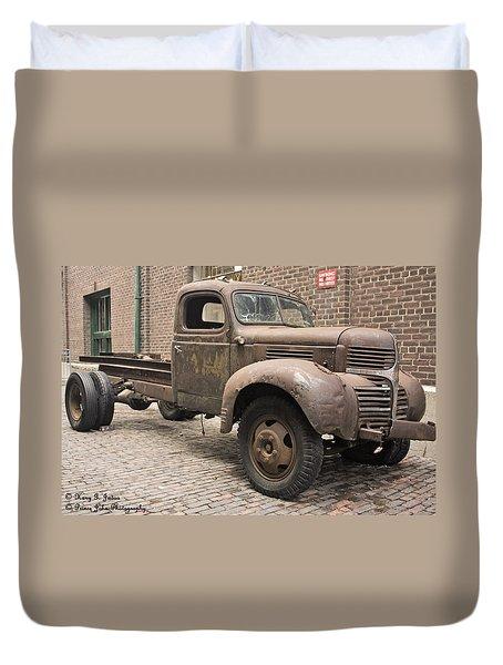 Dodge Me In Duvet Cover