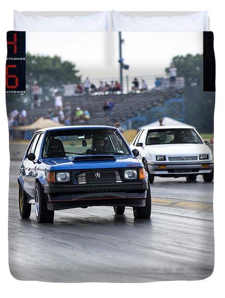Dodge Omni Glh Vs Rwd Dodge Shadow Duvet Cover