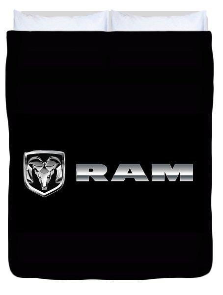 Dodge Ram Logo Duvet Cover