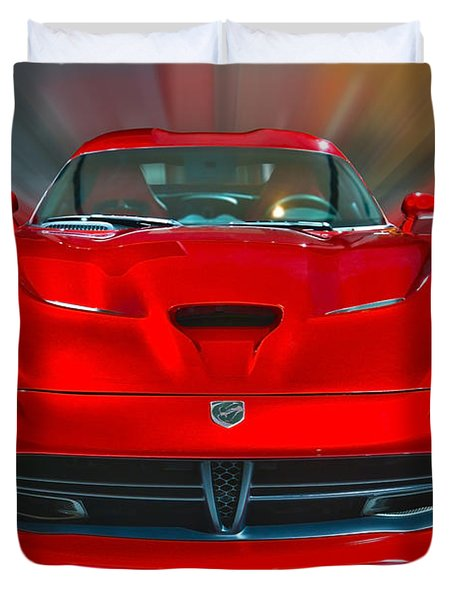 Dodge Viper Srt  2013 Duvet Cover