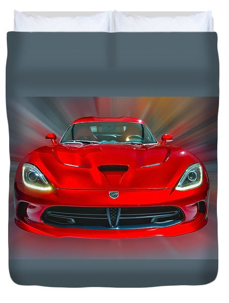 Dodge Viper Srt  2013 Duvet Cover