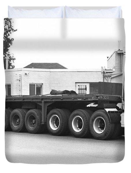 Dodge's Biggest Truck Duvet Cover